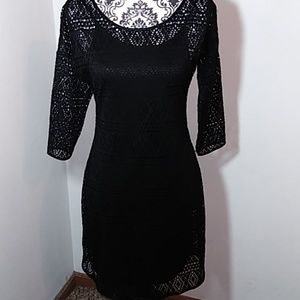 Express Black Knitted Dress